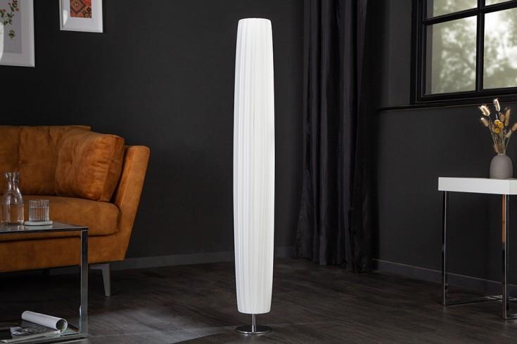Moderne Design Stehlampe MARILYN 120cm weiß Stehleuchte