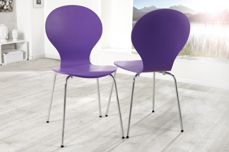 design stuhl form lila riess