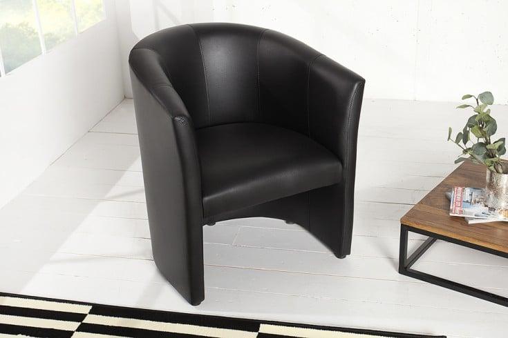 stylischer cocktailsessel art deco schwarz sessel. Black Bedroom Furniture Sets. Home Design Ideas