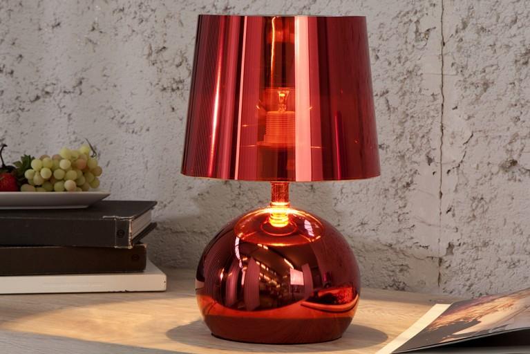 Design Tischlampe Carina rot