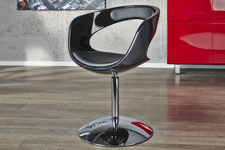 Design Drehsessel GAMBLER schwarz Sessel