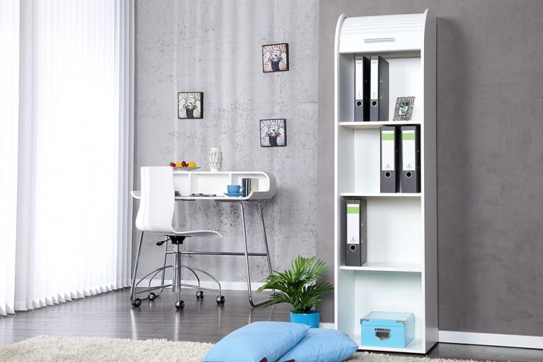 Hochwertiger Design Registerschrank RODILLO 165cm weiß Aktenschrank