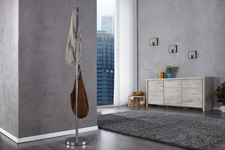design wandgarderobe claire hochglanz wei garderobe mit ablage riess. Black Bedroom Furniture Sets. Home Design Ideas