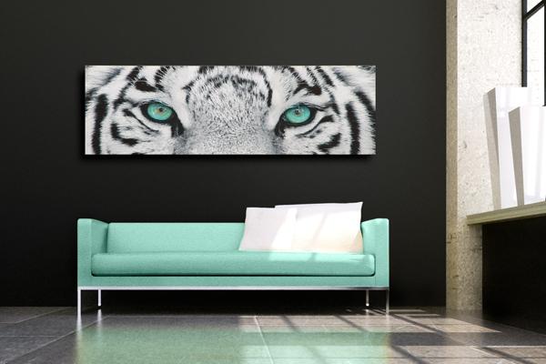 Fasziniernder Kunstdruck FIXION 50x140cm Bild Leinwand