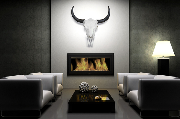 Eindrucksvoller Deko Schädel EL TORO Longhorn Skull 62cm