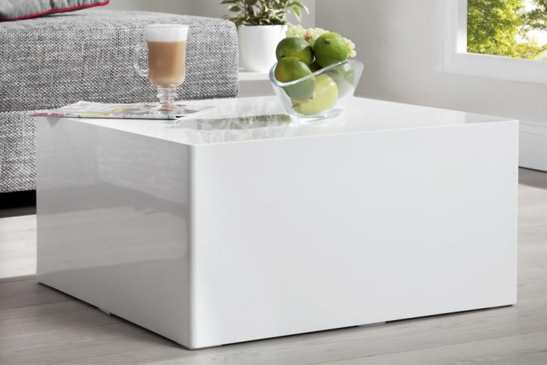 design couchtisch monobloc xl 100cm hochglanz weiss riess. Black Bedroom Furniture Sets. Home Design Ideas