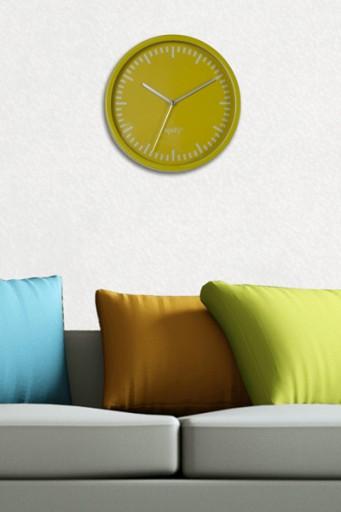 Moderne Design Wanduhr SPIZY green apple 20cm Küchenuhr