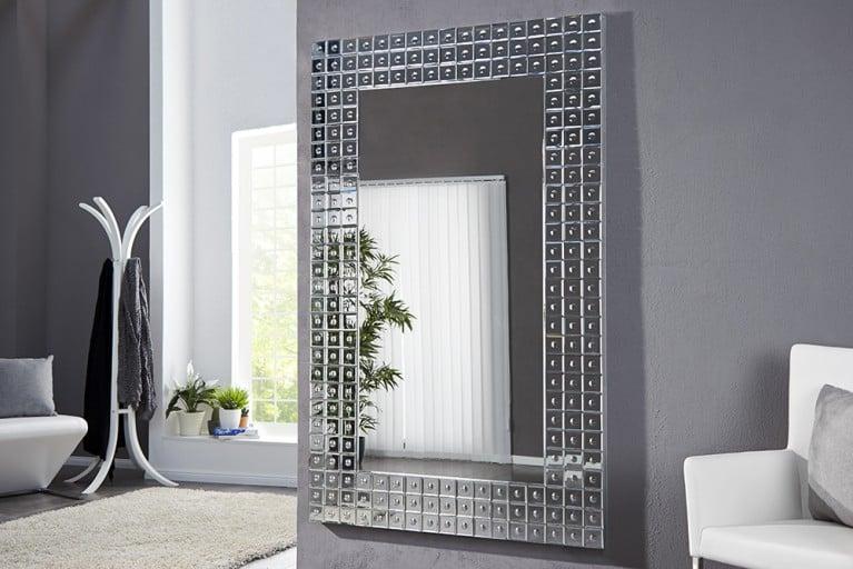 Gigantischer Wandspiegel CHAINS XL Skulptur 180x110cm Spiegel