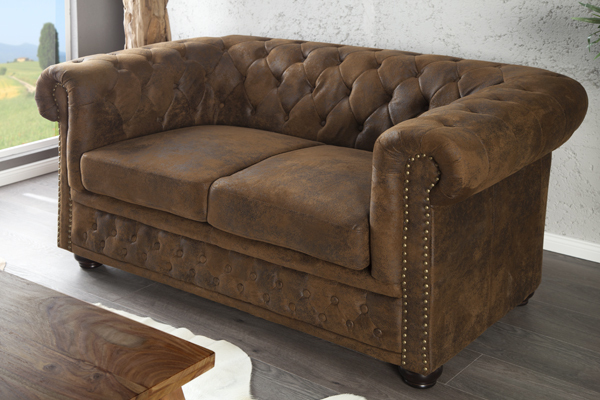 Design Chesterfield Recamier Im Antik Look Riess Ambiente Onlineshop