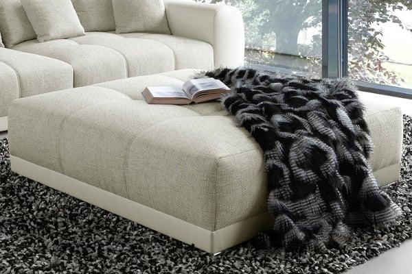Riesiger Hocker Zu XXL Sofa GIANT LOUNGE In Trendfarbe Greige