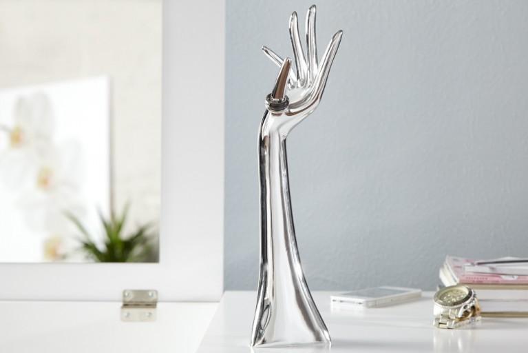 Design Ring und Schmuckhalter PRECIOSA Silber 33 cm Schmuckständer