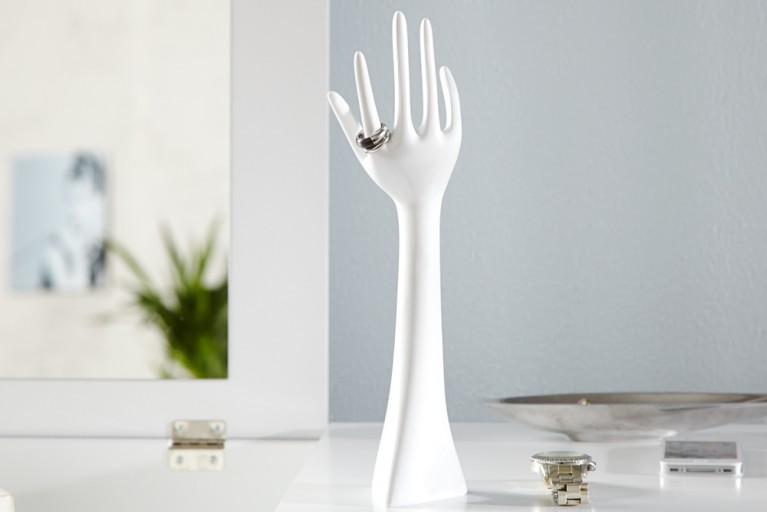 Design Ring und Schmuckhalter PRECIOSA Weiss 33 cm Schmuckständer