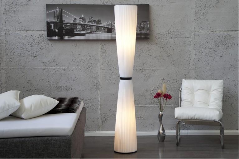 Design Stehleuchte VIVA weiß 170cm