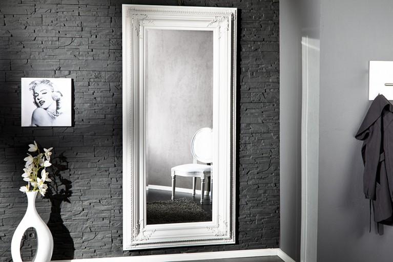Barock Spiegel RENAISSANCE Antik Look weiss 210x100cm