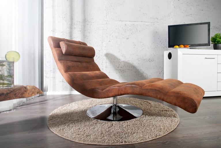 Extravagante Design Liege RELAXO coffee Relaxliege