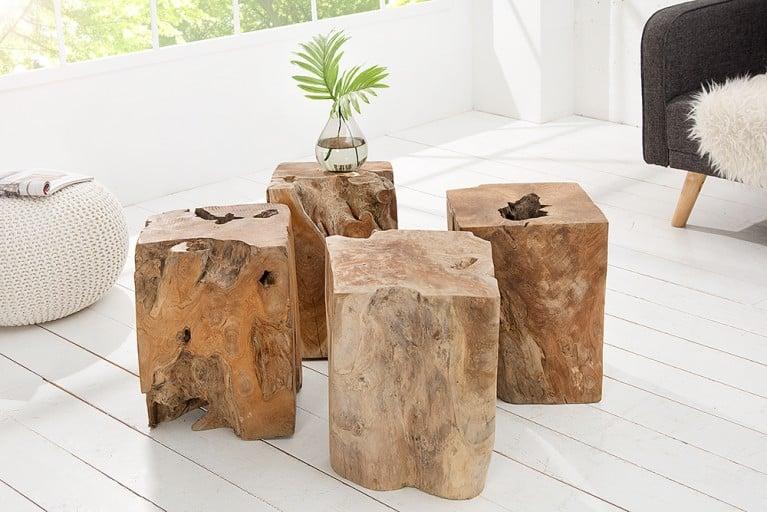 Massivholztische riess for Beistelltisch 100x100