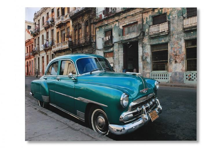 Riesiger Kunstdruck Kuba HAVANA CARS 50x70cm Bild Leinwand