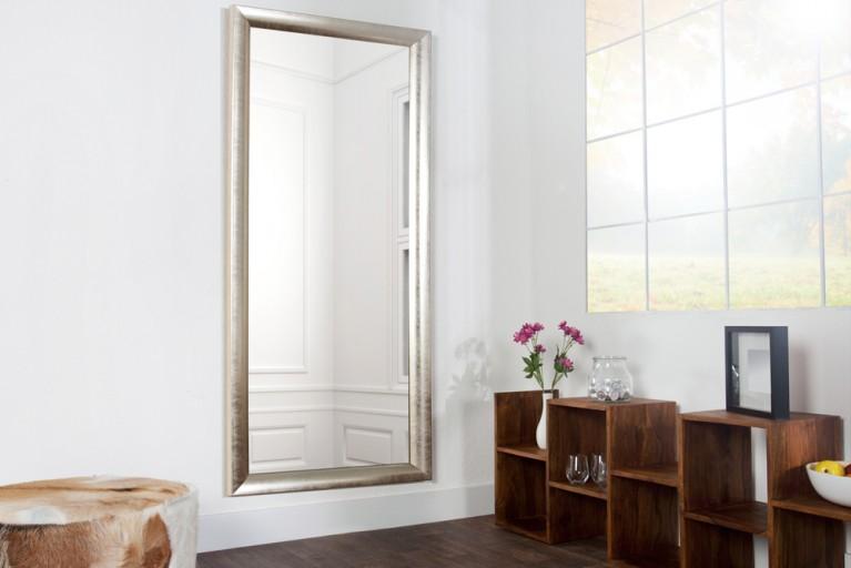 Design Spiegel REFLECTION silber mit Facettenschliff 150cm Wandspiegel