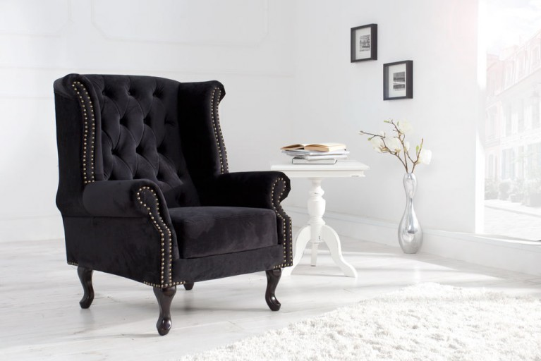 edles chesterfield sofa 3 sitzer im antik look riess ambiente onlineshop. Black Bedroom Furniture Sets. Home Design Ideas