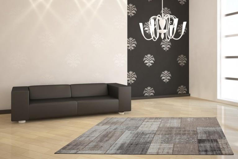 Exklusiver Design Teppich MARRAKESCH Vintage Optik 155x230cm
