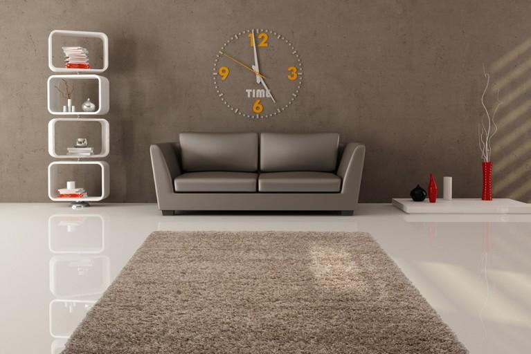 Design Hochflor Teppich SHAGGY cappuccino 160x230cm