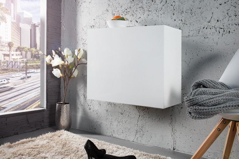 Moderner Design CUBE weiß Hochglanz Hängewürfel made in Italy