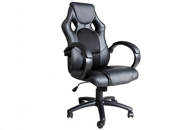 Exklusiver Design Chefsessel Bürostuhl RICKY ORIGINAL MCA schwarz