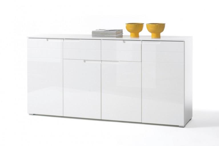 Design Sideboard SPICE 180cm weiß Hochglanzfront