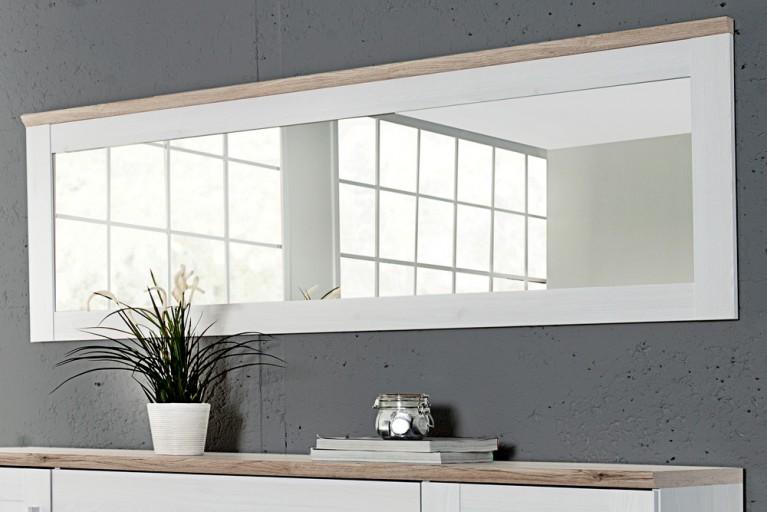 Klassischer Design Spiegel NOTTING HILL 185cm weiss San Remo hell