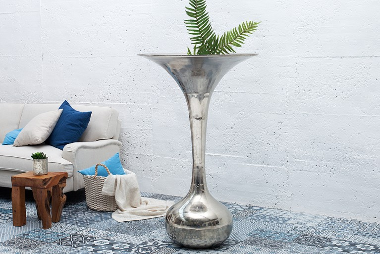Große Deko-Vase MARRAKESCH NIGHTS 120cm hochwertige Metall-Aluminium-Legierung