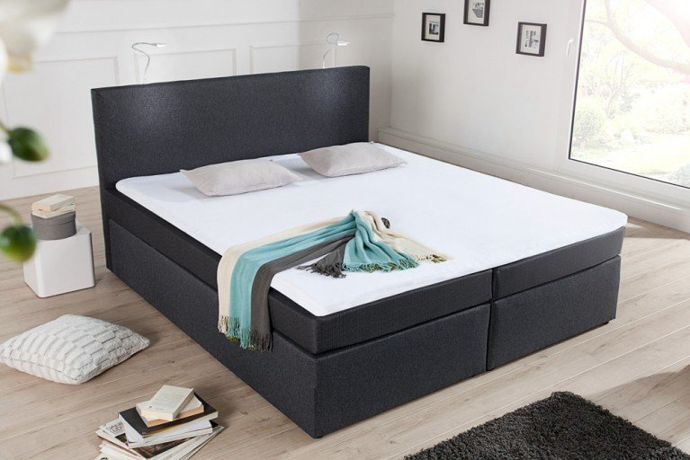 g nstige boxspringbetten in unvergesslichen designs von riess ambiente riess ambiente onlineshop. Black Bedroom Furniture Sets. Home Design Ideas