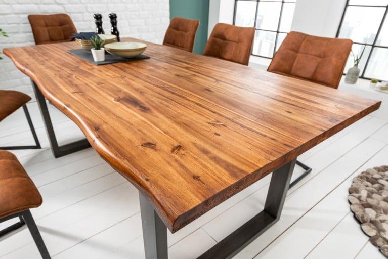 Esstisch aus Eichenholz | Massivholztisch, Design tisch, Tisch