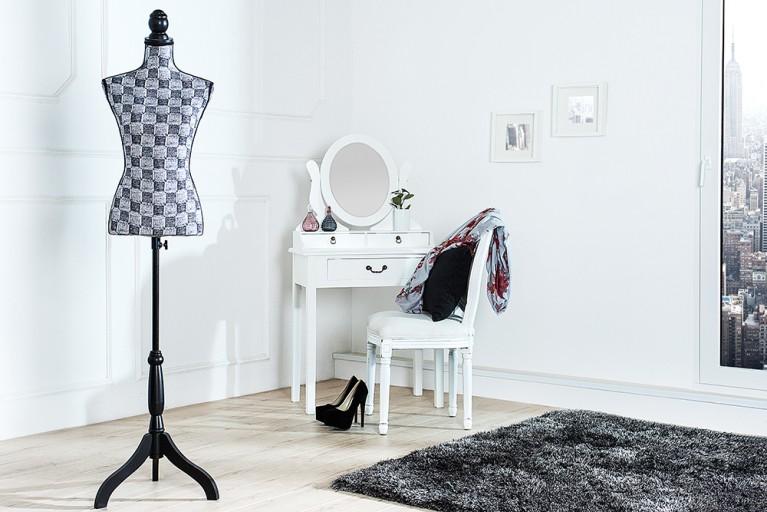 Design Mannequin CARREAU stylische Schneiderpuppe höhenverstellbar