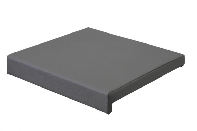 Elegantes Klemmkissen JAM für Sitzbänke charcoal 40 cm