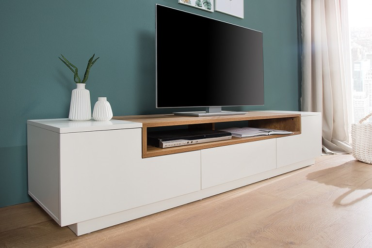Schr nke in exklusiven designs riess for Meuble tv 90 cm de long