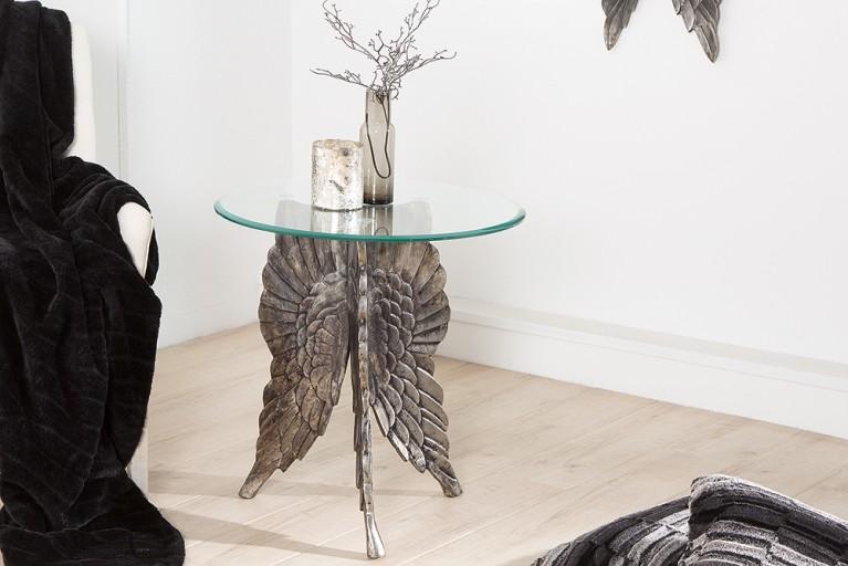 Außergewöhnlicher Beistelltisch FALLEN ANGEL 65cm Couchtisch