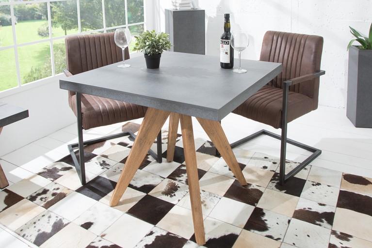 esstisch betonoptik free beton tisch dade design ag concrete works beton with esstisch. Black Bedroom Furniture Sets. Home Design Ideas