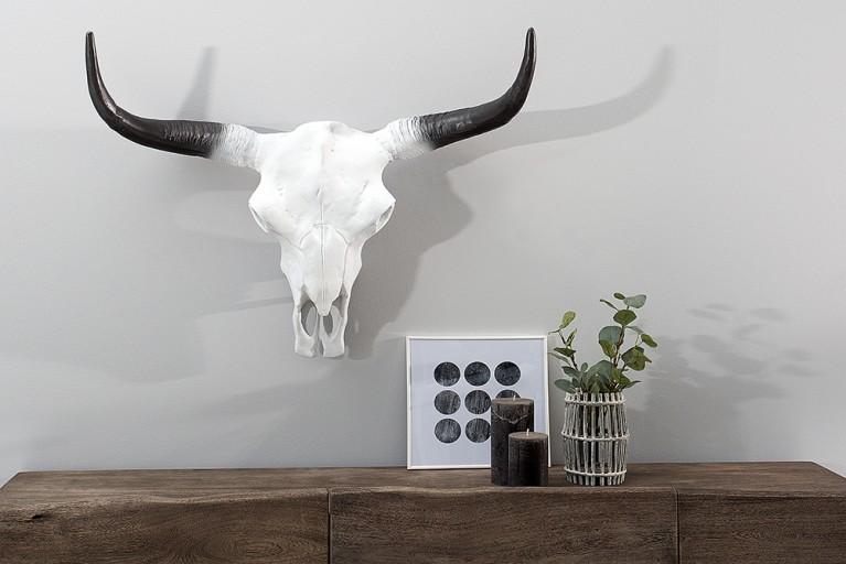 Imposanter Büffelschädel EL TORO 70cm natur