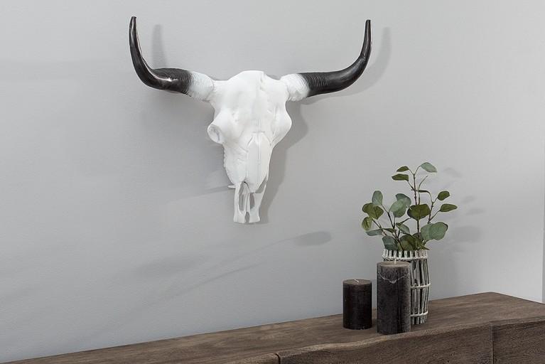 Imposanter Büffelschädel EL TORO 50cm natur