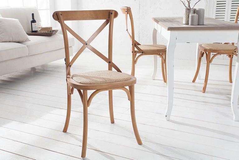 Hochwertiger Designklassiker Stuhl LE CHALET Handgearbeitet Eiche