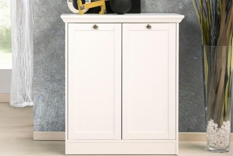 Klassische Design Kommode PROVENCE 90cm weiß im Landhausstil