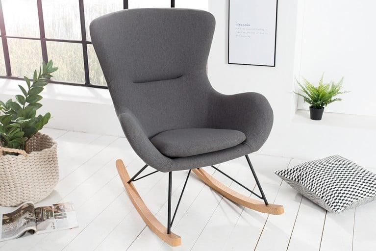 design schaukelstuhl scandinavia swing wei schaukelsessel. Black Bedroom Furniture Sets. Home Design Ideas