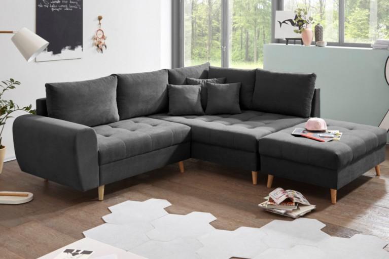 eckcouch anthrazit. Black Bedroom Furniture Sets. Home Design Ideas