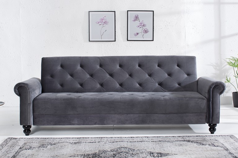 samt sofa grau finest kissen samt sofa aus mikrofaser. Black Bedroom Furniture Sets. Home Design Ideas