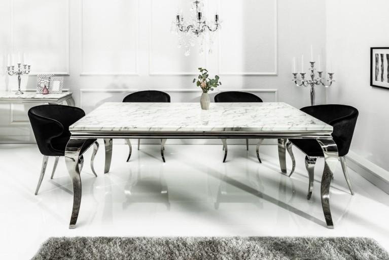 Tische riess for Marmor esstisch weiss