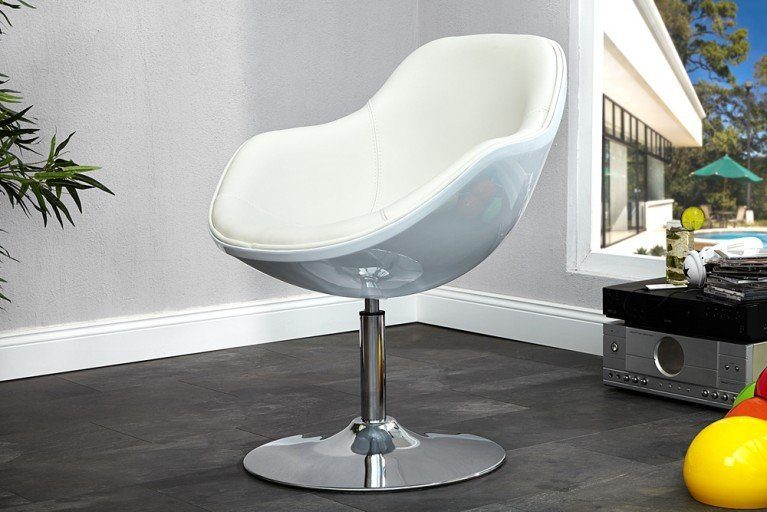 Design Sessel SPEEDCHAIR weiss total