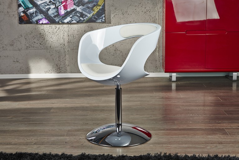 Lounge Sessel GAMBLER weiß