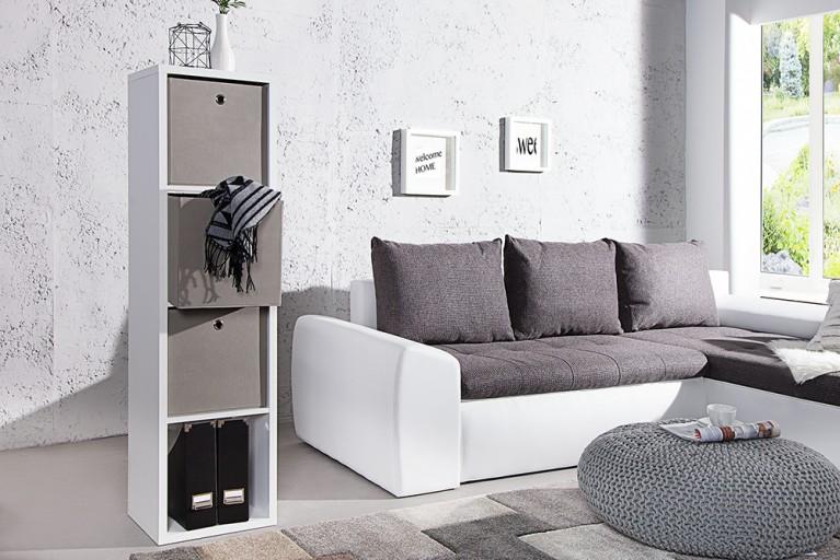 Praktische Faltbox SQUARE 32cm Aufbewahrungsbox Stauraumlösung schlamm 3er Set