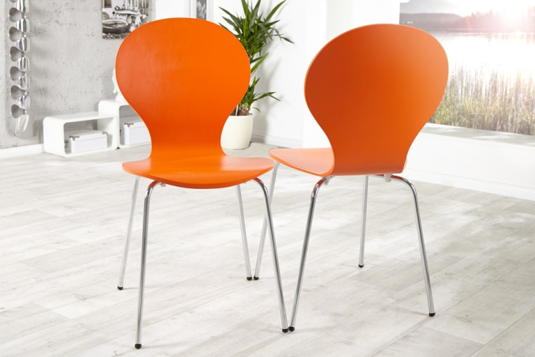 Design Stuhl FORM orange