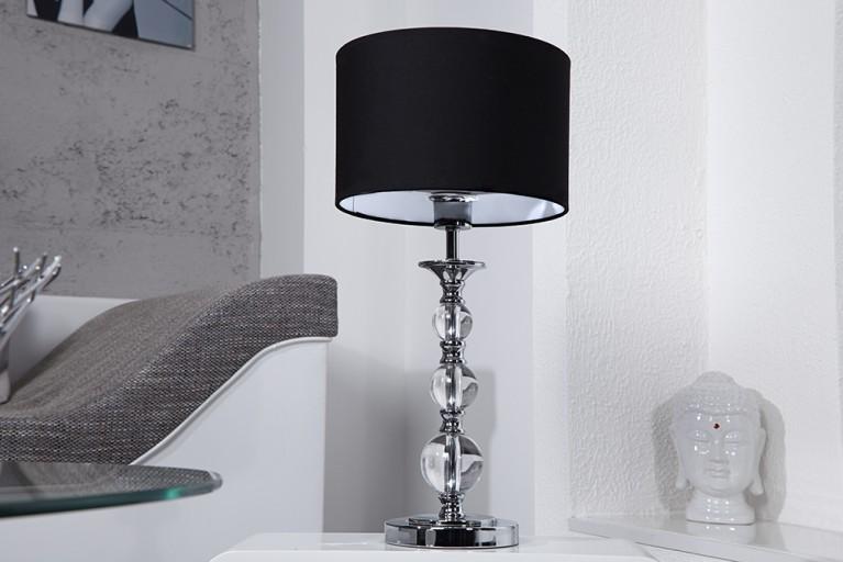 Außergewöhnliche Tischlampe ALLURE schwarz